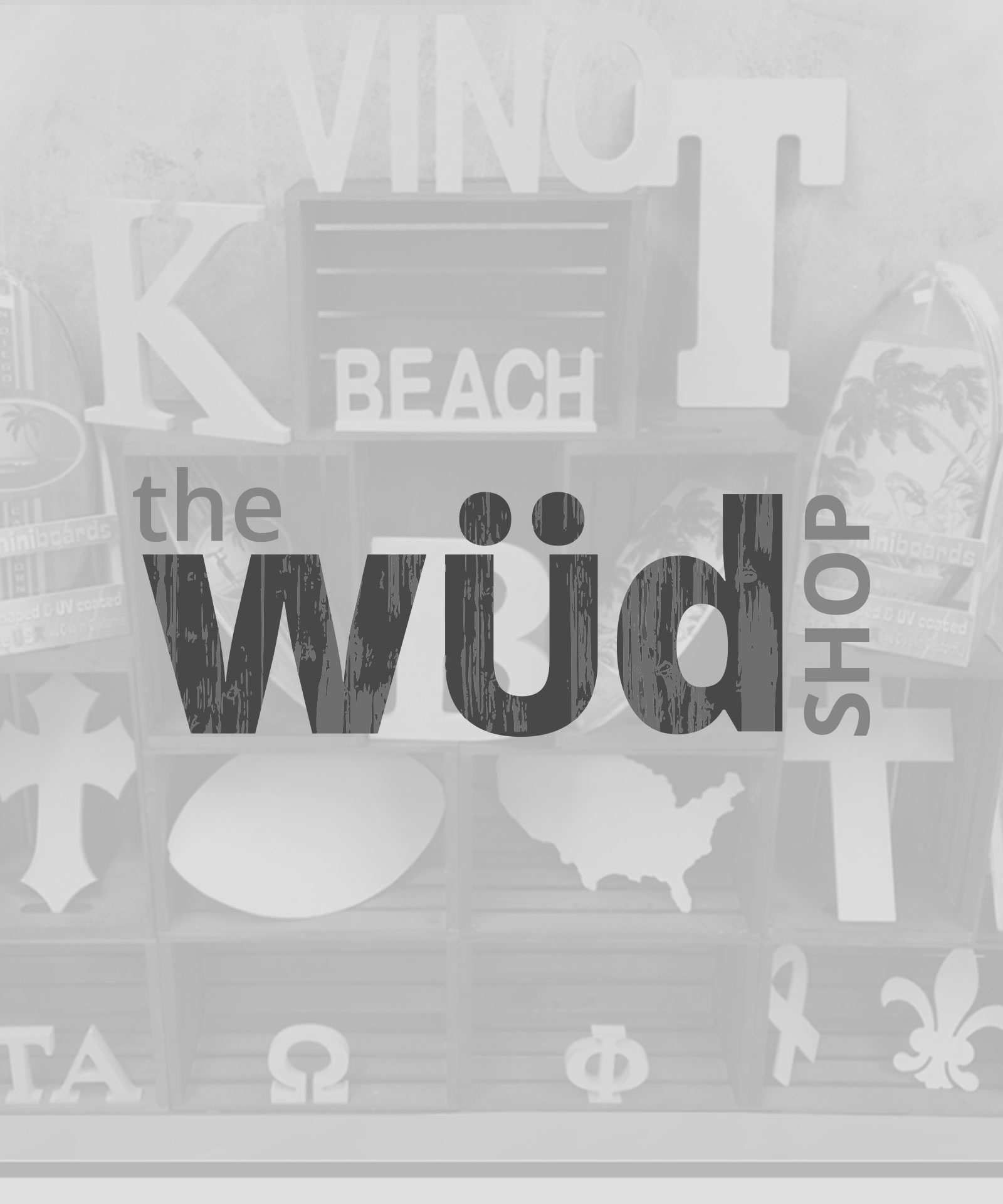 Our Work – the WUD shop